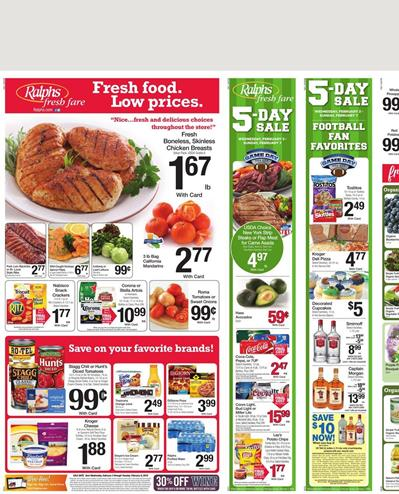 Ralphs Weekly Ad Offers Valentine's Day Gifts As Well