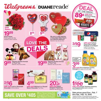 Walgreens Ad Valentine S Day Gifts 2016