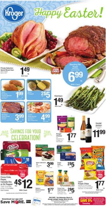 Kroger sale ad for This week
