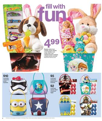 Target Ad Easter Gifts Mar 2016
