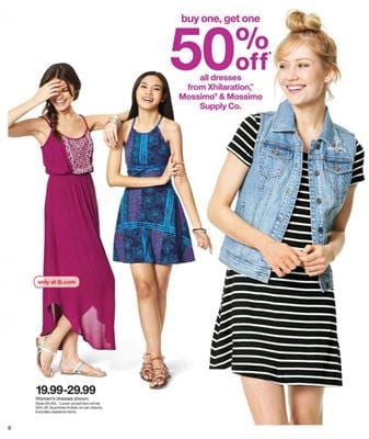 Target Ad Mossimo Casual Wear Mar 2016