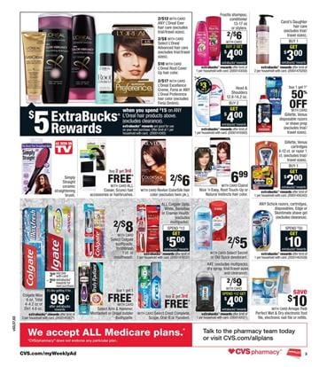 CVS Ad Extrabucks Rewards Saturday Apr 3
