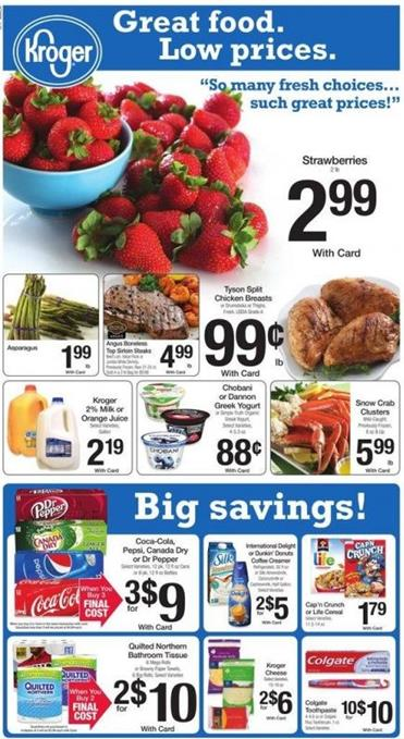 Kroger Ad Apr 13 2016 Outdoor Furniture