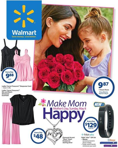 Walmart Ad Mothers Day 2016