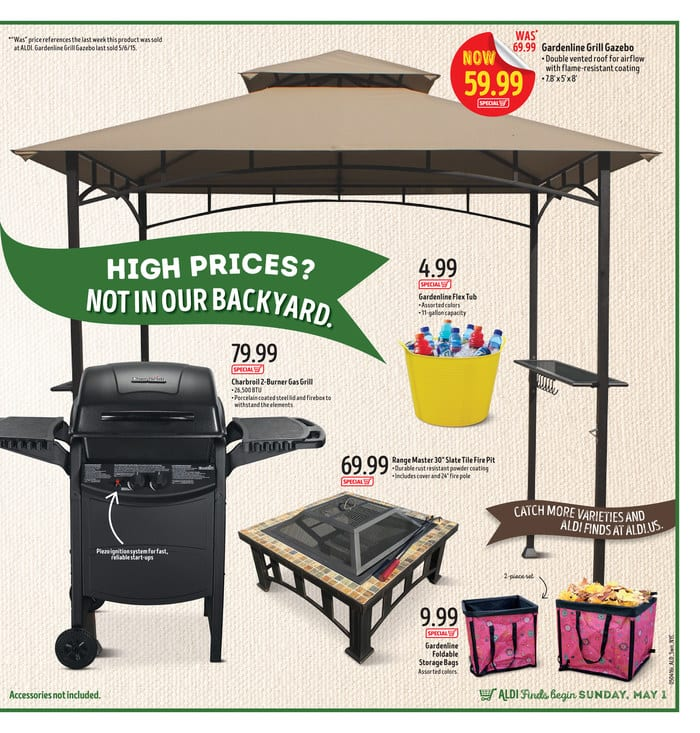 aldi ad charbroil 2 burner gas grill prices. Black Bedroom Furniture Sets. Home Design Ideas