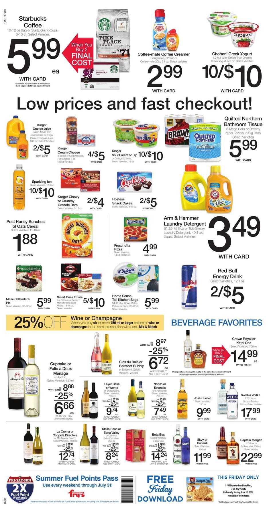 Fry\'s Weekly Ad May 25 - 31 May 2016 Coupons