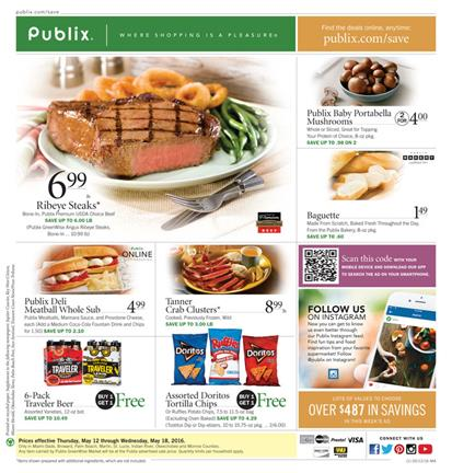 Publix Weekly Ad May 12 2016