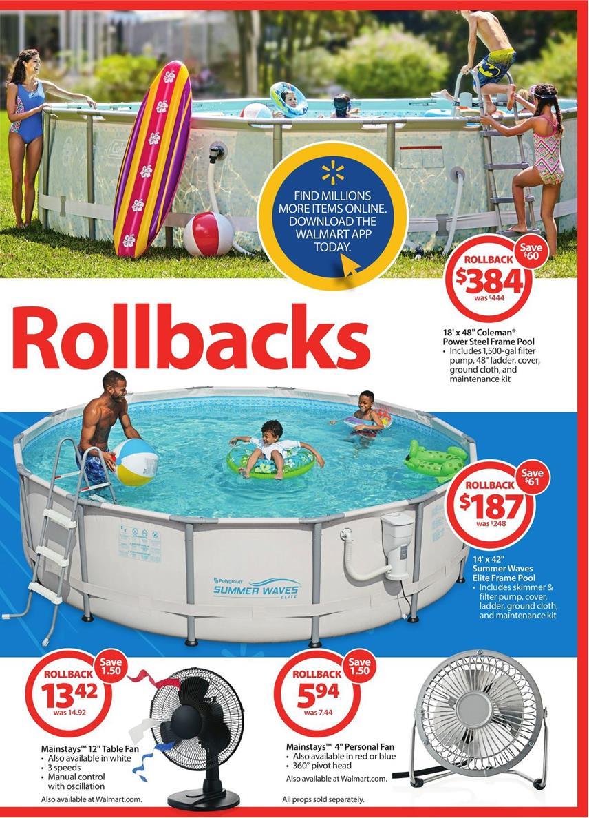 Walmart Weekly Ad May 27 Father S Day And Rollbacks