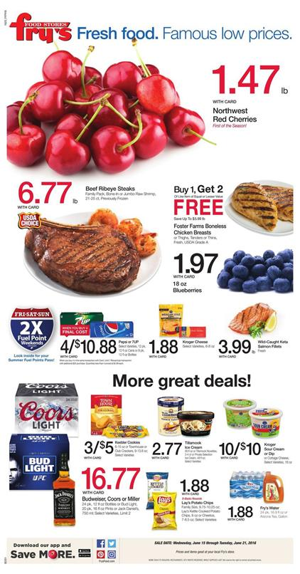 Frys Weekly Ad Jun 15 21 2016 Top Deals And Coupons
