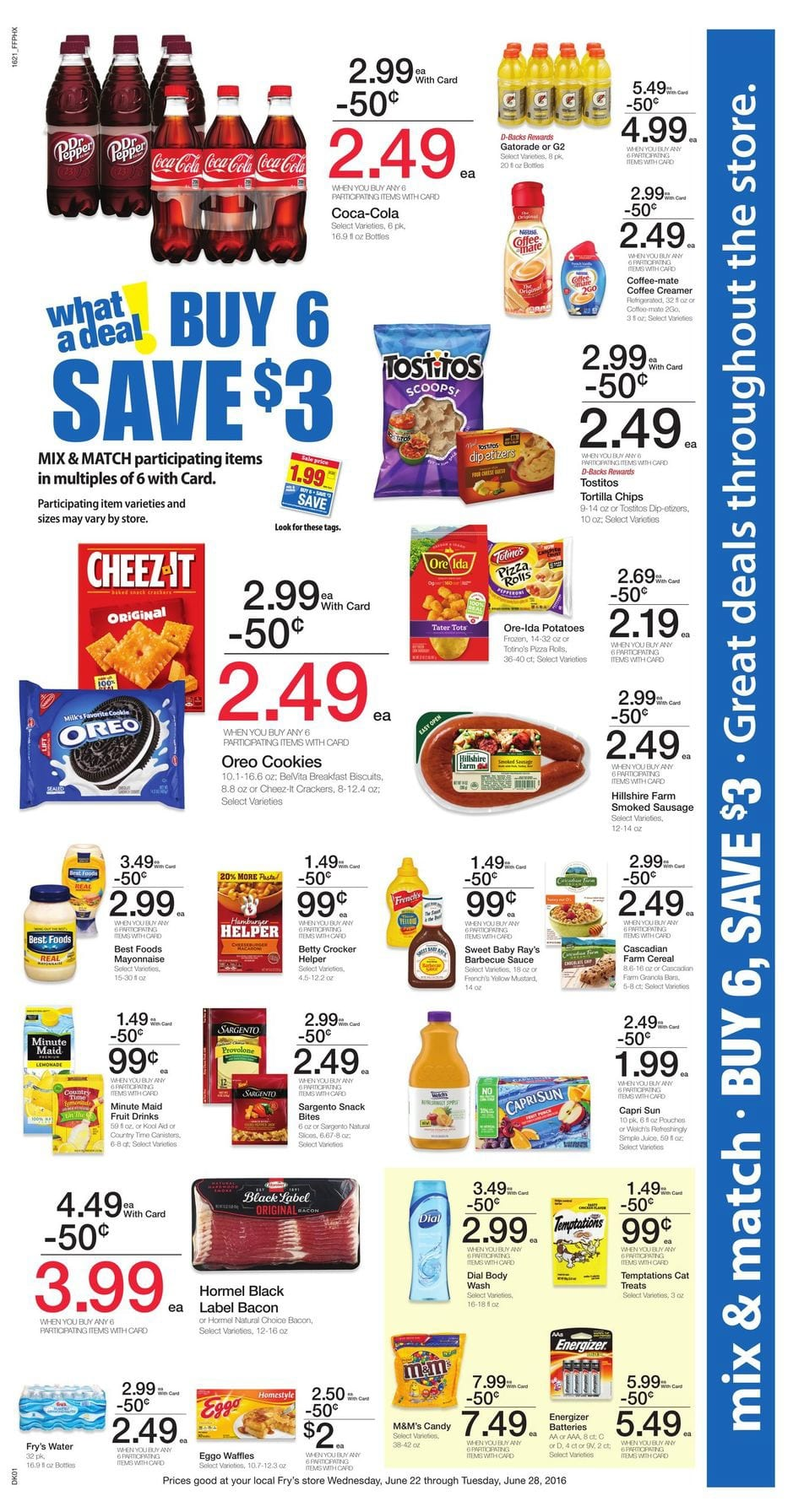 Frys Weekly Ad Jun 22 28 2016 Deals And Coupon Savings