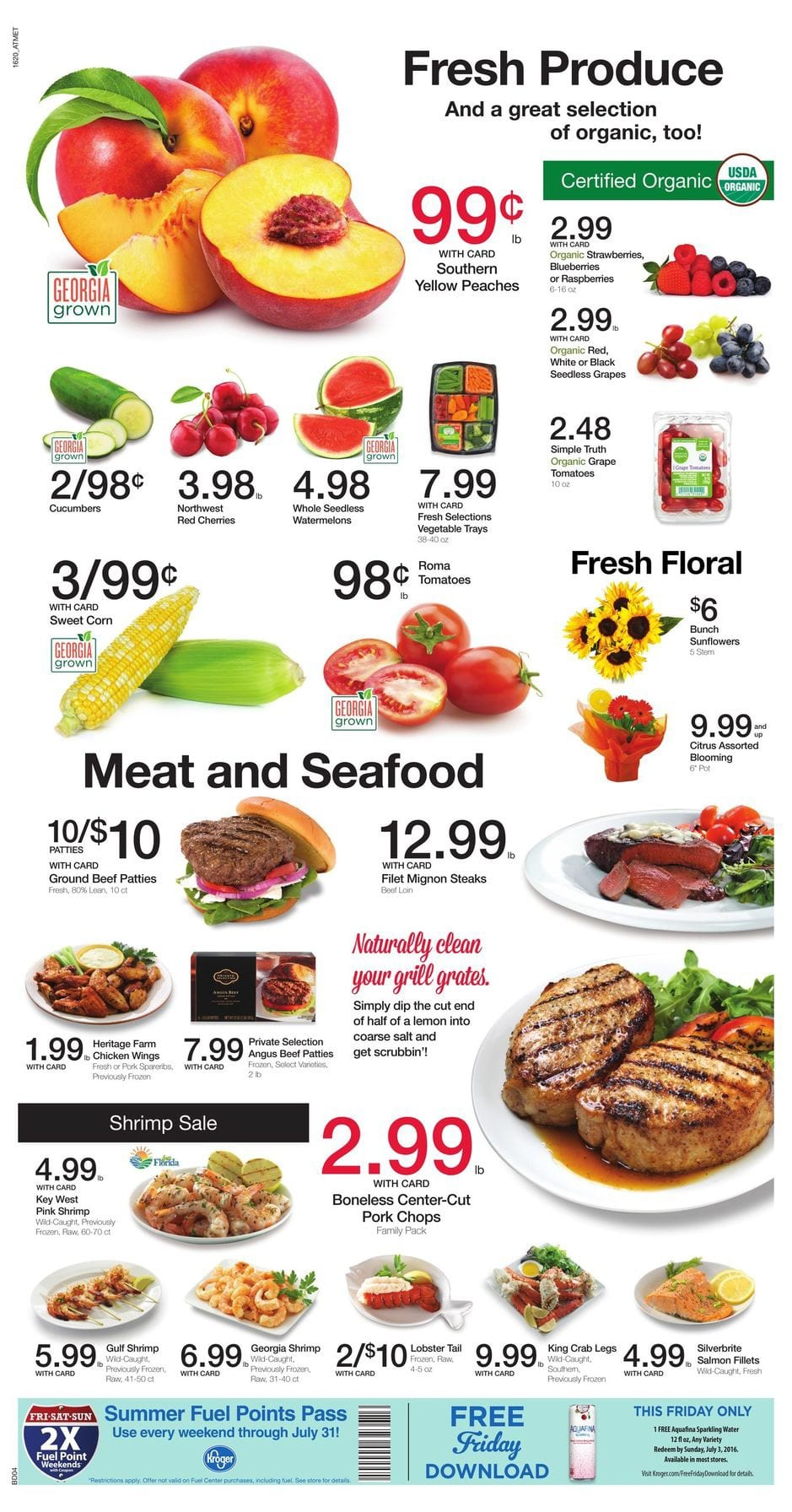 kroger sale paper for this week If you are interested in seeing the kroger ad scan for the sale starting tomorrow you can see it here this is for the sale starting tomorrow this is for the sale starting tomorrow we will have 1 more week of the mega event and sadly no diapers in the ad .