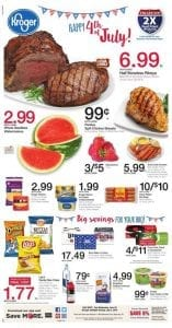Kroger Weekly Ad Jun 29 - Jul 5 2016