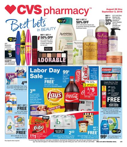 CVS Weekly Ad Aug 28 - Sep 3 2016 Beauty