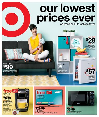 Target Weekly Ad Aug 14 - 20 2016 Overview