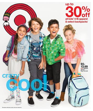 Target Weekly Ad Aug 7 - 13 2016