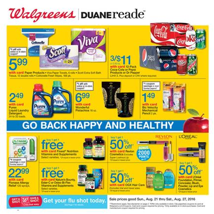 Walgreens Coupon Matchups 8 21 - 8 27 2016