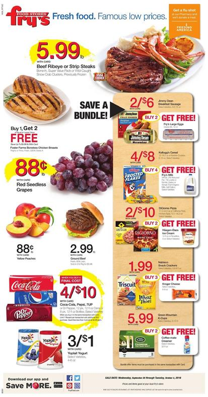 Fry's Weekly Ad Sep 28 - Oct 4 2016 Halloween
