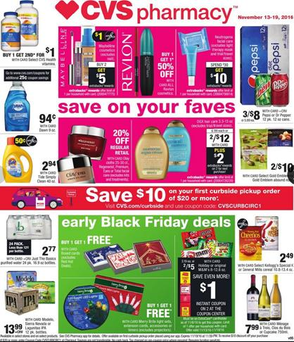 CVS Weekly Ad November 13 - 19 2016