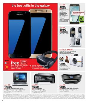 Entertainment and Electronics - Video Games - Phones by Target Ad pg11