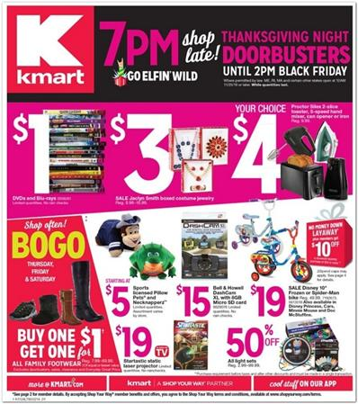 sc 1 st  Weekly Ads & Kmart Black Friday Ad 2016 Night Doorbusters