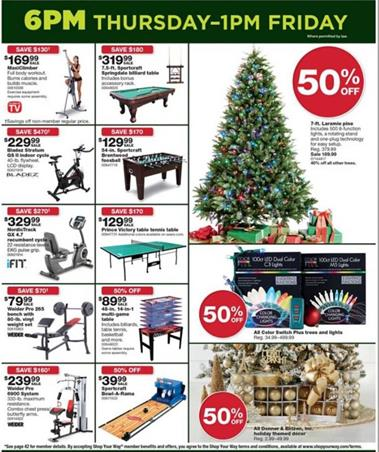 Black Friday Christmas Decorations.Sears Black Friday Ad Christmas Decoration 2016