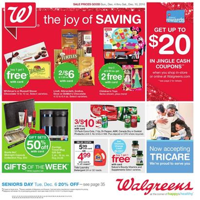 Walgreens Weekly Ad Holiday Deals Dec 4
