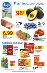 kroger weekly ad dec 28 2016