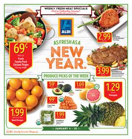 ALDI Weekly Ad Food January 4 - 10 2017