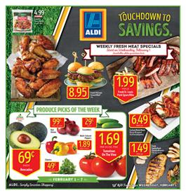 ALDI Weekly Ad Snacks Feb 1 - 7 2017