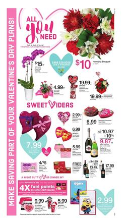 Fry's Weekly Ad Valentine's Day Feb 1 - 7 2017
