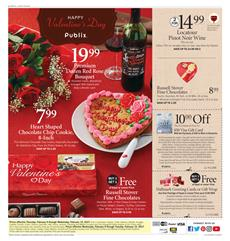 Publix Weekly Ad Valentine's Day Feb 8 - 14 2017