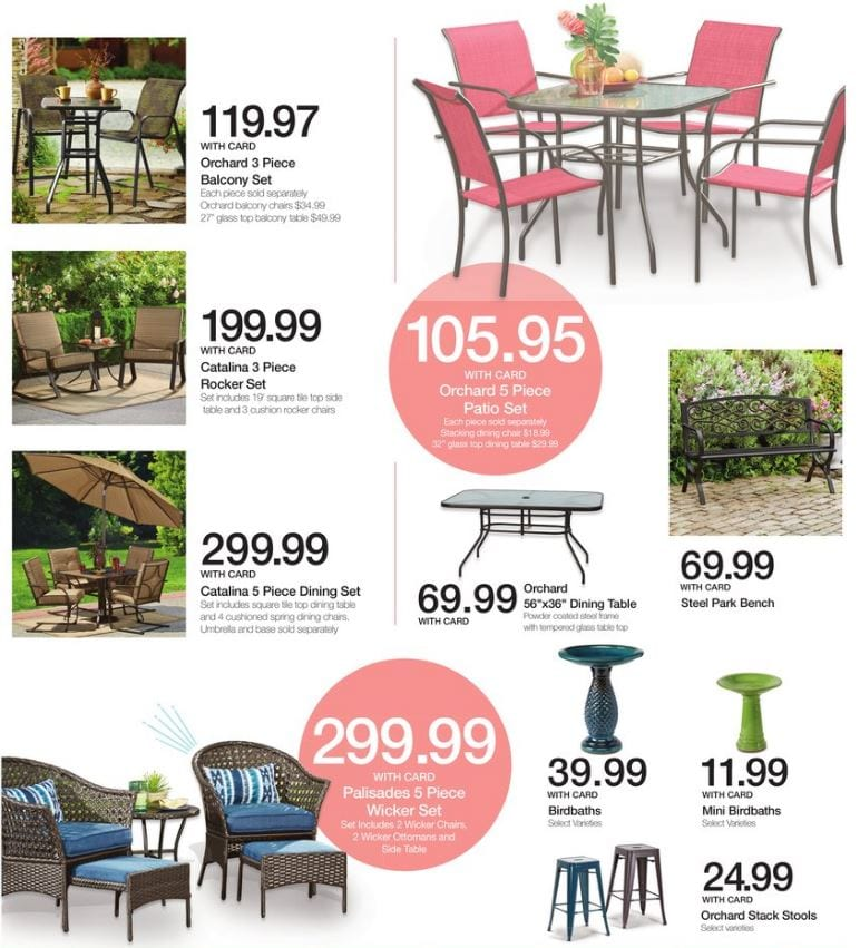 accessories patio your projects from kroger with to family home style perfection furniture sale