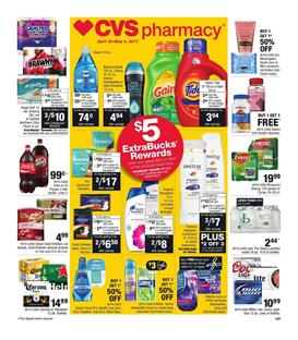 CVS Weekly Ad Grocery Apr 30 - May 6 2017