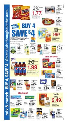 Kroger Buy 4 Save $4 Deals May 2 2017