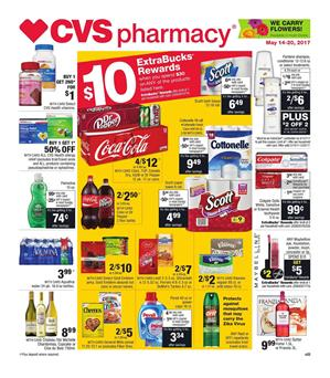 CVS Weekly Ad Pharmacy May 14 - 20 2017