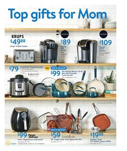 Gifts For Mom Walmart Ad May 14 2017