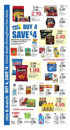 Kroger Ad Mix and Match Sale May 3 - 9 2017
