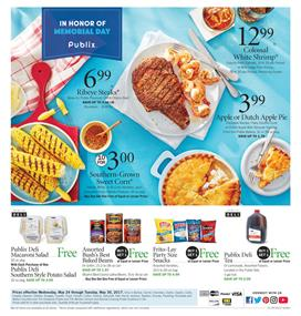 Publix Weekly Ad Deals May 24 - 30 2017