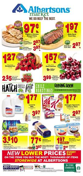 Albertsons Weekly Ad Deals July 26 - Aug 1 2017