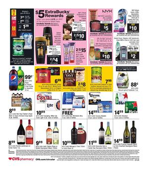 CVS Ad Snacks and Drinks July 9 - 15 2017