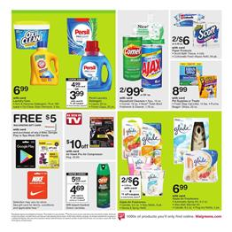 Cleaning Supplies Walgreens Ad July 16 - 22 2017