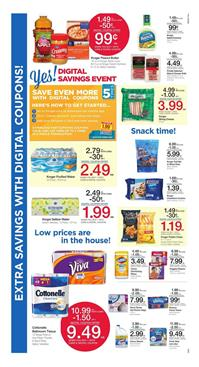 Kroger Ad Digital Savings Event July 12 - 18 2017