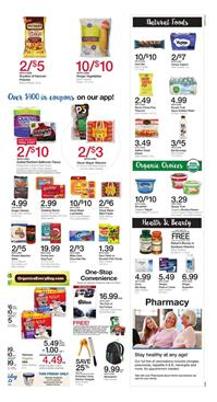 Kroger Ad Natural Deals July 12 - 18 2017