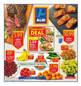 ALDI Weekly Ad Food August 20 - 26 2017