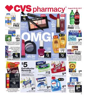 CVS Weekly Ad Pharmacy Aug 20 - 26 2017