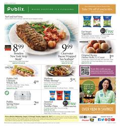 Publix Weekly Ad Deals Aug 16 - 22 2017