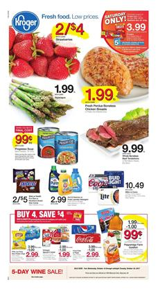 Kroger Ad Mix and Match Oct 18 - 24, 2017