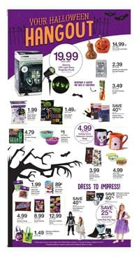 Kroger Weekly Ad Halloween Products Oct 22 - 28, 2017