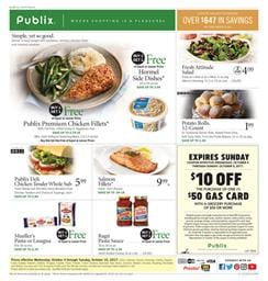 Publix Weekly Ad Deals October 4 - 10 2017