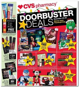 CVS Black Friday Ad Sneak Peek Nov 23 - 25, 2017